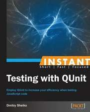 Instant Testing with QUnit