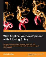Web Application with R Using Shiny