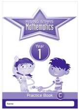 Rising Stars Mathematics Year 1 Practice Book C