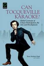 Can Tocqueville Karaoke?