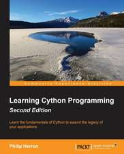 Learning Cython Programming Second Edition