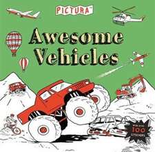 Pictura Puzzles Awesome Vehicles