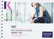 Indirect Tax (FA14) - Pocket Notes