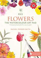 RHS Flowers The Watercolour Art Pad