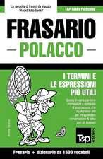 Frasario Italiano-Polacco E Dizionario Ridotto Da 1500 Vocaboli