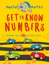Master Maths Book 1: Get to Know Numbers