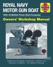 Motor Gun Boat Manual: MGB 81 (British Power Boats) 1942-45