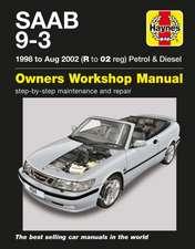 Saab 9-3 Petrol & Diesel (98 - Aug 02) Haynes Repair Manual
