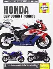 Honda CBR1000RR Fireblade (04 - 07) Haynes Repair Manual