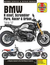 BMW R nineT, Scarmbler, Pure, Racer & Urban G/S