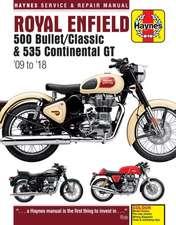 Royal Enfield 500 Bullet / Classic & 535 Continental GT Haynes Service & Repair Manual: '09 to '18