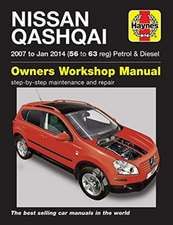 Nissan Qashqai ('07 to Jan '14) 56 to 63