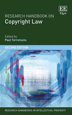 Research Handbook on Copyright Law – Second Edition