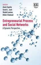 Entrepreneurial Process and Social Networks – A Dynamic Perspective