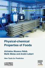 Physical-Chemical Properties of Foods: New Tools for Prediction