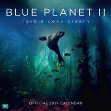 BBC Blue Planet Official 2019 Calendar - Square Wall Calendar Format