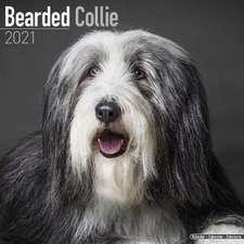 Bearded Collie 2021 Wall Calendar