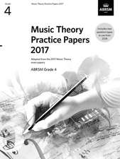 Music Theory Practice Papers 2017, ABRSM Grade 4
