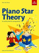 Piano Star: Theory: An activity book for young pianists