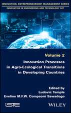Innovation Processes in Agro–Ecological Transitions in Developing Countries