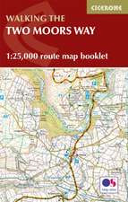 Two Moors Way Map Booklet