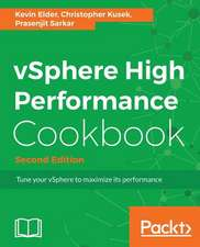 Vsphere High Performance Cookbook Second Edition