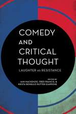 Comedy and Critical Thought