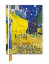 Van Gogh: Café Terrace (Foiled Journal)