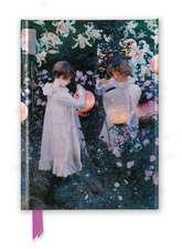 John Singer Sargent: Carnation, Lily, Lily, Rose (Foiled Journal)