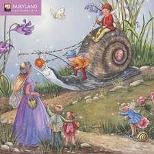 Fairyland mini wall calendar 2019 (Art Calendar)