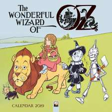Wizard of Oz Wall Calendar 2019 (Art Calendar)