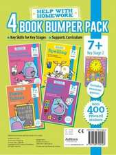 7+ Pack - Maths, Multiplying and Dividing, Spelling & Times Tables