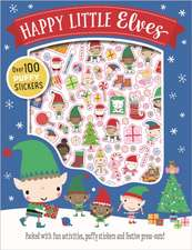 Happy Little Elves Puffy Sticker Activity