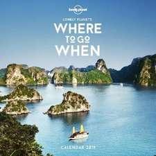Where To Go When Calendar 2019 [AU/UK]