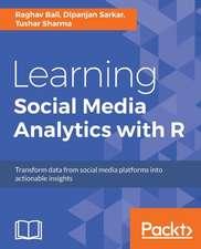 LEARNING SOCIAL MEDIA ANALYTIC
