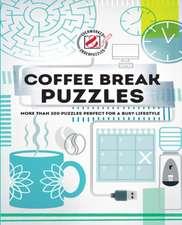 COFFEE BREAK PUZZLES OVERWORKED UNDE