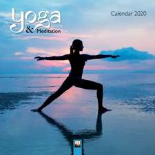 Yoga & Meditation Wall Calendar 2020 (Art Calendar)