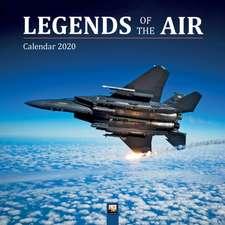 Legends of the Air Wall Calendar 2020 (Art Calendar)
