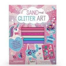 Sand and Glitter Art