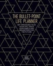 Bullet-Point Life Planner