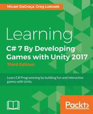 Learning C# 7 by Developing Games with Unity 2017
