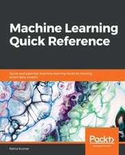 Machine Learning Quick Reference