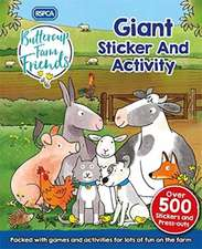 RSPCA: Buttercup Farm Friends Giant Sticker and Activity