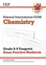 New Edexcel International GCSE Chemistry: Grade 8-9 Targeted Exam Practice Workbook (with answers)