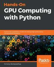 Hands-On GPU Computing with Python