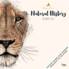 Natural History by Ben Rothery 2020 Square Wall Calendar