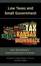 Low Taxes and Small Government