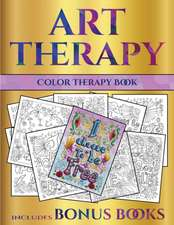 Color Therapy Book (Art Therapy)