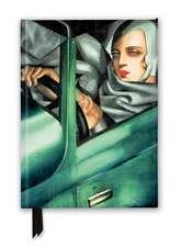 Tamara de Lempicka: Tamara in the Green Bugatti, 1929 (Foiled Journal)