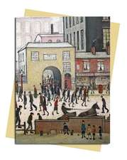 L.S. Lowry: Coming from the Mill Greeting Card: Pack of 6